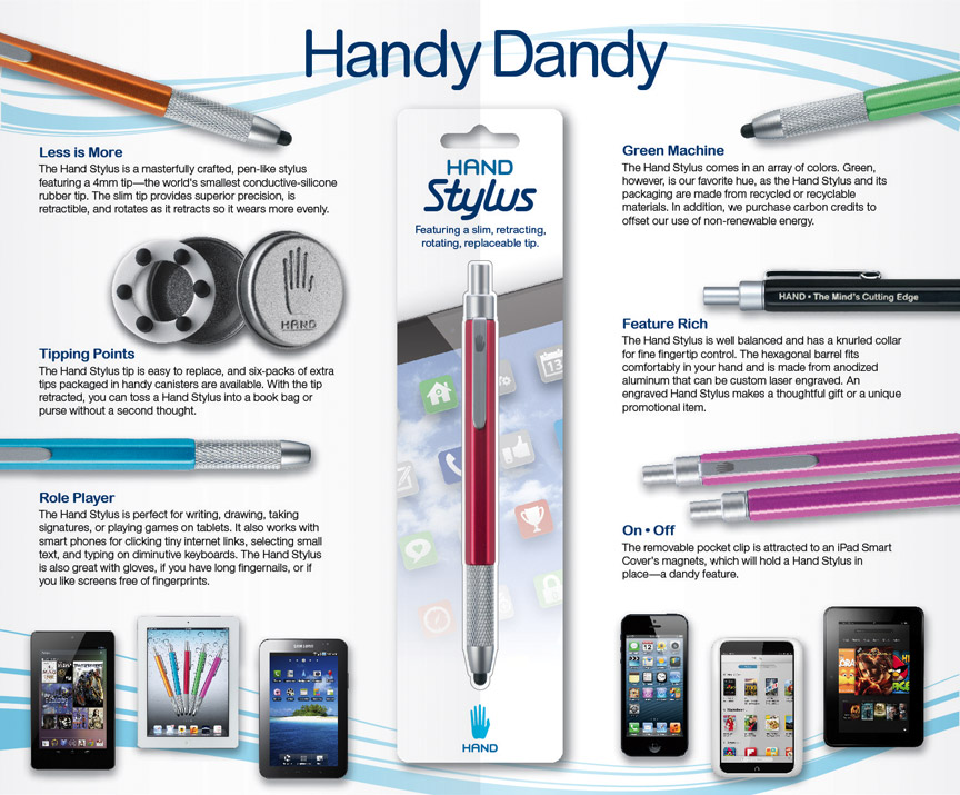 Features of Hand Stylus for iPad, iPhone, Windows, Android ...